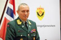 Generalløytnant Kjell Grandhagen, sjef for Etterretningstjenesten. / Lieutenant General Kjell Grand Hagen, head of the Intelligence Service.