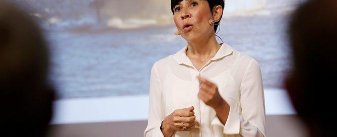 Ine Eriksen Søreide er blant debattantene i Oslo 31. september